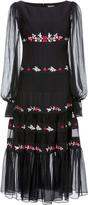 Temperley London Fantail Midi Dress