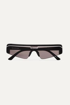 Balenciaga Ski D-frame Acetate Sunglasses - Black