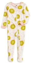 Tea Collection Infant Girl's Bruadarach Fitted One-Piece Pajamas