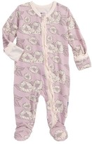 Kickee Pants Infant Girl's Print Fitted One-Piece Footie Pajamas