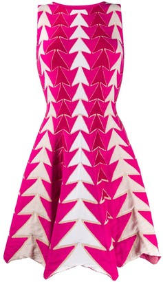 Valenti Antonino arrow print dress