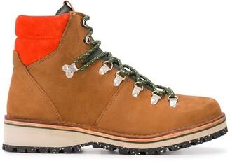 Paul Smith Lace-Up Trek Boots