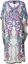 Roberto Cavalli multi-print shift dress - women - Silk/Cotton - S