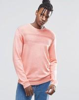 Asos Merino Mix Sweater with Textured Stitch