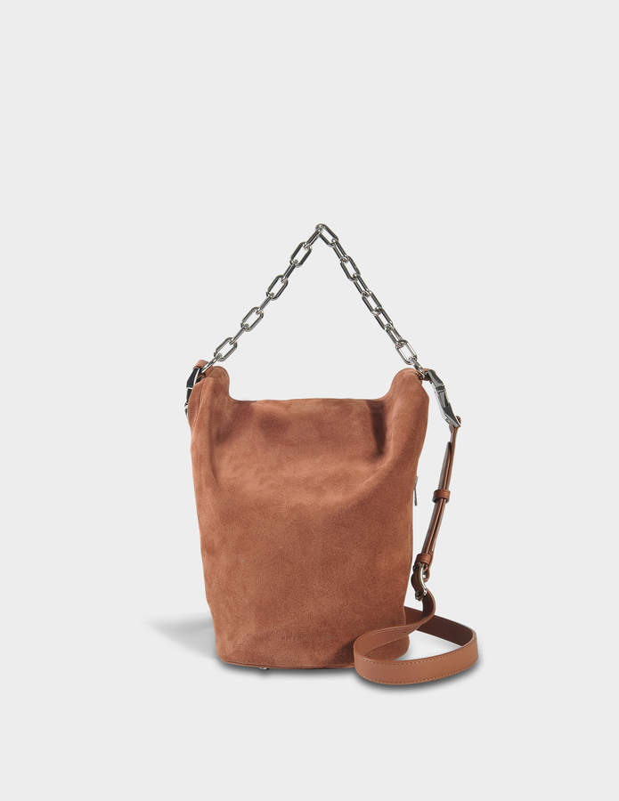 Alexander Wang Attica Soft Dry Sack Bag in Terracotta Calfskin