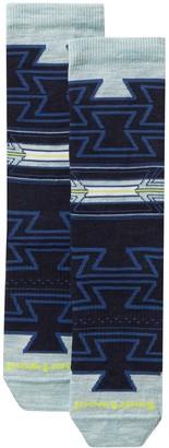 Smartwool Premium Geometric Wool Blend Crew Socks
