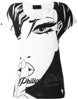 Philipp Plein Face T-shirt - women - Cotton - XXL