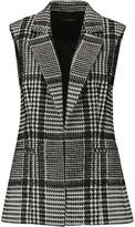 Theory Eldora wool-blend bouclé vest