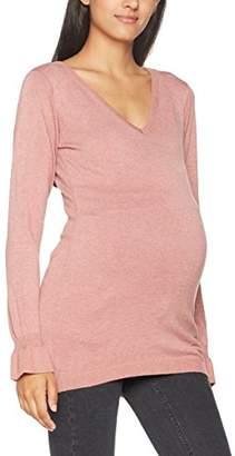 Mama Licious Mamalicious Women's Mlzolanda L/s Knit Top Long Sleeve,(Size: Medium)