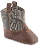 Natural Steps 9-12 months Líl Legend Realtree Camo Bootie in Brown