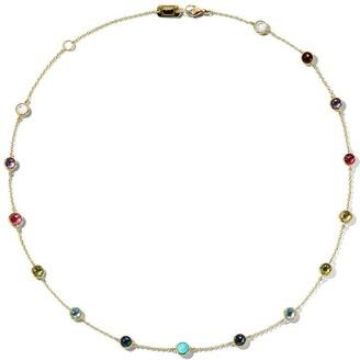 Ippolita 18kt gold Lollipop Station necklace