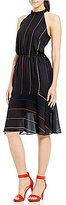 Gianni Bini Luanne Halter Neck Midi Dress