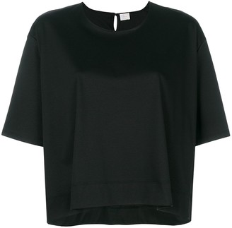 C.T.PLAGE loose fit cropped T-shirt