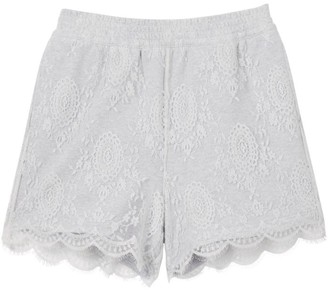 Burberry Lace Cotton Shorts