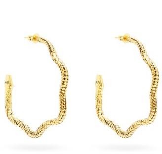 Aurélie Bidermann Aurelie Bidermann - Tao Gold-plated Snake Earrings - Womens - Gold