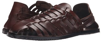 Massimo Matteo Huarache (Black) Men's Slip on Shoes