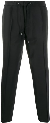 BOSS Stripe Detail Cropped Trousers
