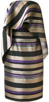 Christian Siriano striped dress