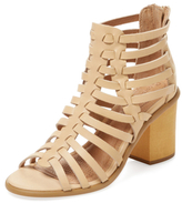 Corso Como Skye Leather Cage Sandal