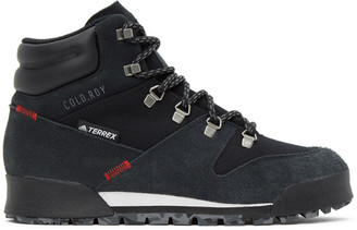 adidas Black Terrex Snowpitch Cold.Rdy Hiking Boots
