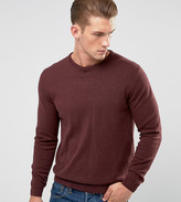 ONLY & SONS Knitted Sweater In 100% Cotton