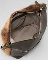 Marni Three-in-One Convertible Fur Backpack