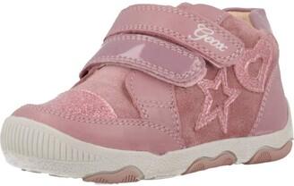 Geox Girl's B N.BALU' G. C First Walker Shoes