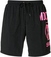 Moschino flamingo logo swim shorts - men - Polyester - M