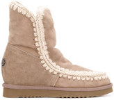 Mou Eskimo wedge boots - women - Sheep Skin/Shearling/Suede/Wool/rubber - 36