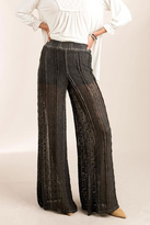 POL Wide Leg Lace-Pants