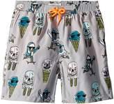 Stella McCartney Taylor Ice Cream Monster Print Swim Shorts Boy's Swimwear