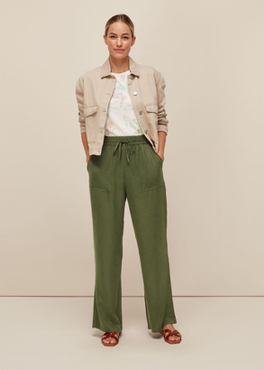 Washed Full Length Trouser