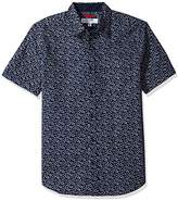 ProjekRaw Projek Raw Men's Mini Print Woven Shirt