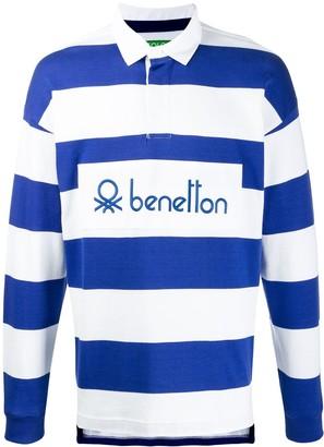 Benetton Long Sleeved Polo Shirt