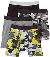 Arizona 4-pk. Camo Boxer Briefs - Boys & Husky 4-20