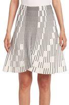Roland Mouret Wilson Embroidered Skirt