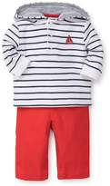 Little Me Baby Boy's Two-Piece Sailor Stripe Hoodies & Pants Set