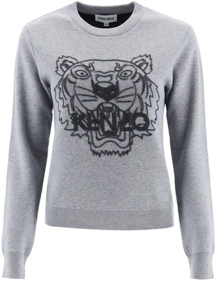 Kenzo Tiger Flocked Sweater