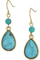 Lauren Ralph Lauren Paradise Found Small Turquoise Drop Earrings