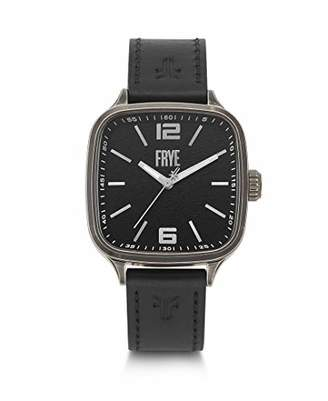 Frye Stainless Steel Japanese Quartz Leather Strap