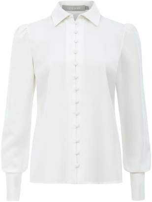 Saint Body Buttons White Shirt