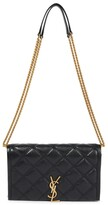 Thumbnail for your product : Saint Laurent Becky Medium leather shoulder bag