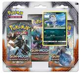 Pokemon Sun Moon Burning Shadows Trading Card Game 3 Pack featuring Meowth