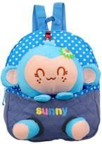 Emotionlin® Kindergarten 1-2-3 Year Old Baby Bags of Small Bags of Monkeys Cute Backpack Cartoon Bag