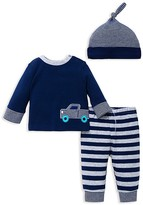 Offspring Infant Boys' Truck Top, Pants & Hat Set - Sizes 3-9 Months