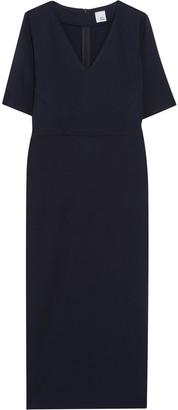 Iris & Ink Ivanna Stretch-ponte Midi Dress