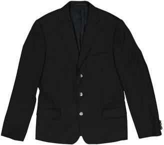 Versace Black Wool Jackets