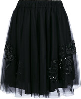P.A.R.O.S.H. sequin embellished full skirt