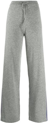 Chinti and Parker Side Stripe Knitted Track Pants