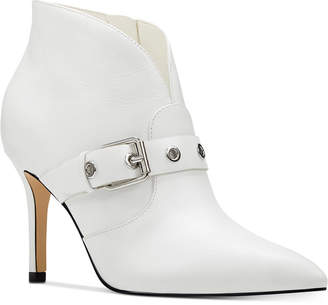Nine West Jax Pointed-Toe Booties Women Shoes